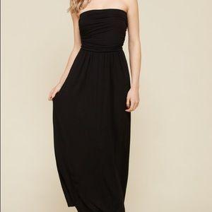 Dresses & Skirts - NWT Soft Black Tube Maxi